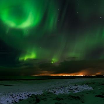 Aurora Boreale in Islanda