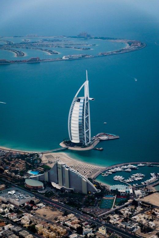 Burj Al Arab & Palm Jumeirah - Dubai