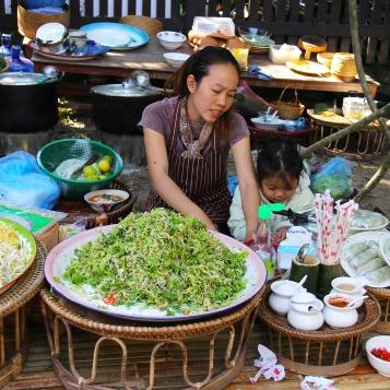 Mercato Laos