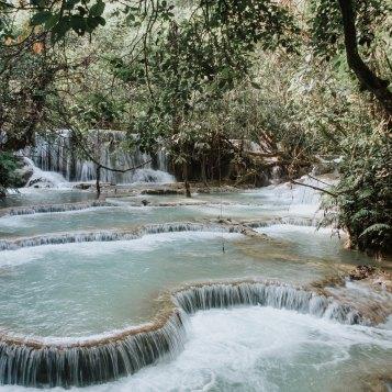 Waterfalls - Lunag Prabang - Laos
